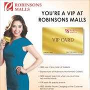 Robinsons Malls VIP Card Perks And Privileg