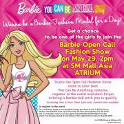 Barbie You Can Be Anything Event At SM Mall