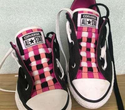 Converse Loopholes Shoelace Design by Sofi