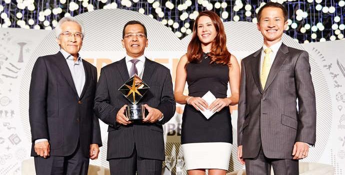 President & CEO Garuda Indonesia Emirsyah Satar Terpilih Sebagai The 2013 Travel Business Leader of The Year