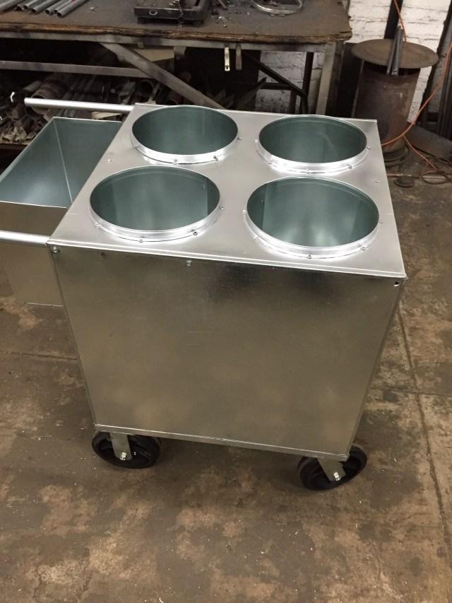nyc style italian ice cart