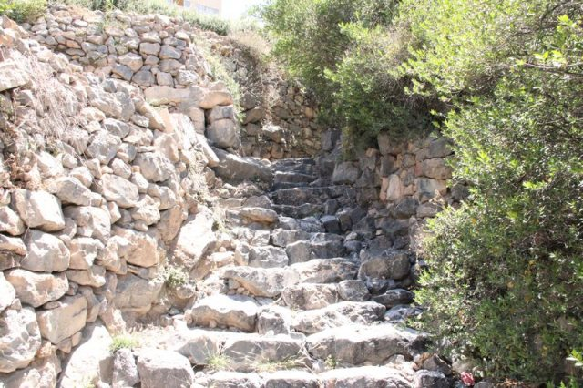 ...along ancient stone paths. Photo: Peninsularity Ensues