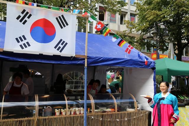 Korean street food in Frankfurt Photo: Peninsularity Ensues