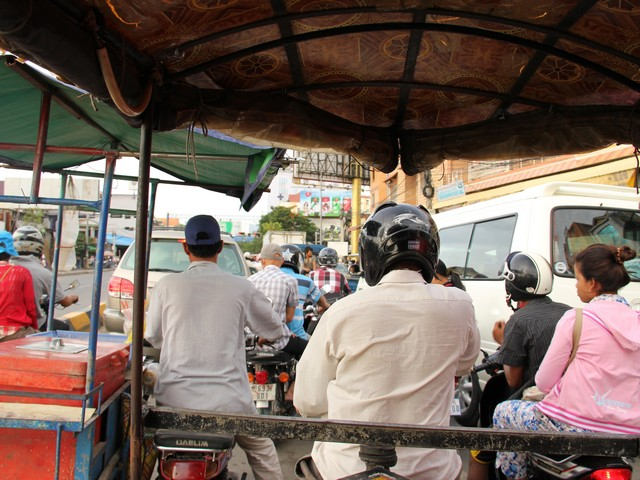 Tuk-tuk-cam (bodia) Photo: Peninsularity Ensues