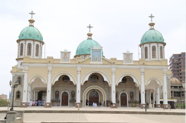 Medhane Alem Church, Addis Ababa Photo: Peninsularity Ensues