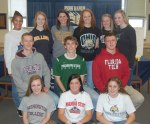 Student-Athletes on Signing Day