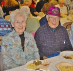 Howard Miller, who turned 100 Thursday, and his wife, Erma