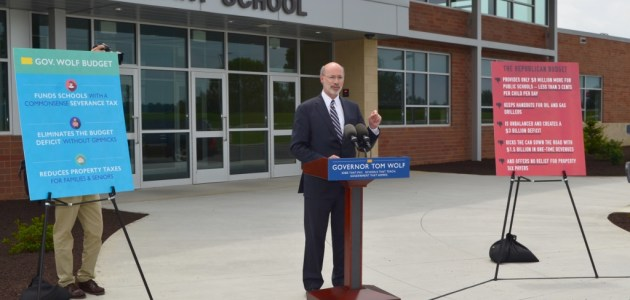 Governor Wolf visits Hambright Elementary