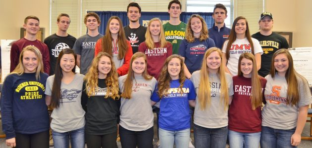 20 PMHS student athletes commit to colleges