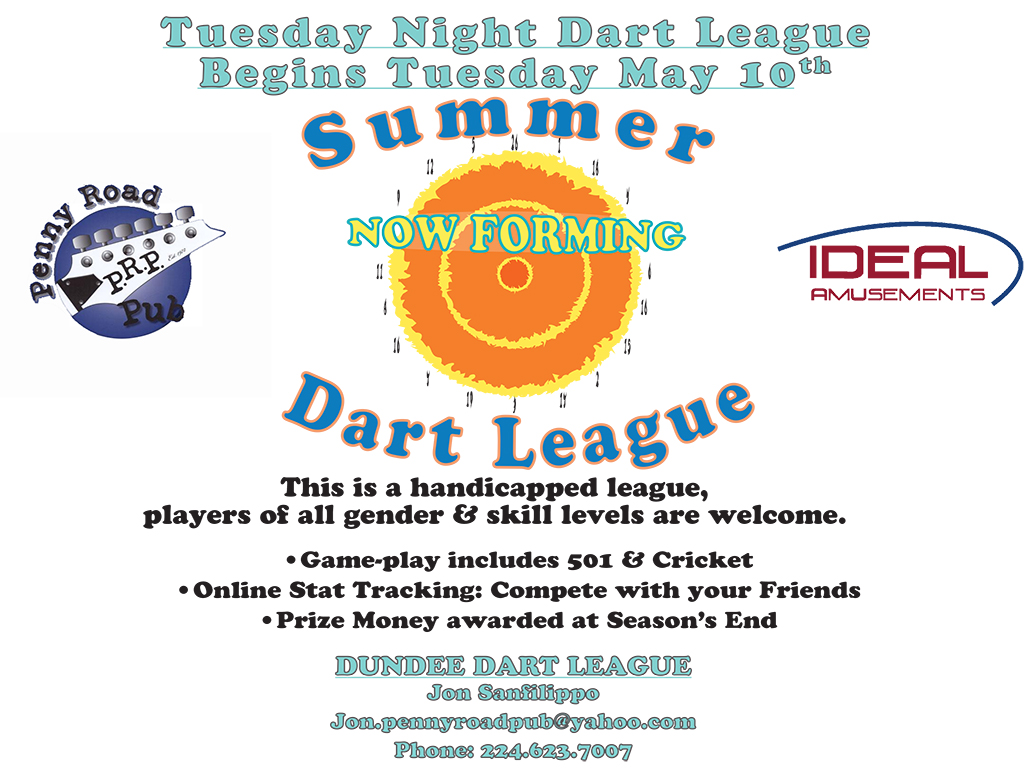 Summer Dart League 2016 - Landscape