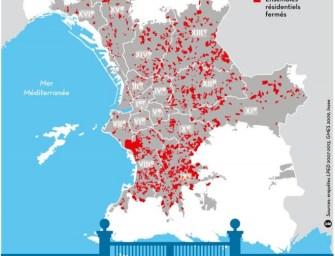 Les résidences fermées à Marseille (12/4/2015)