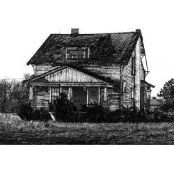 Small Crop Of Run Down House