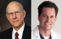 Incumbent Senator Pat Roberts (left), will be forced to defend against his primary challenger, Dr. Milton Wolf (right) in the Kansas Senate race.