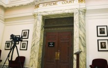 July 15, 2014: The Oklahoma Supreme Court meets for a hearing closed to cameras in Oklahoma City. (Photo: AP)