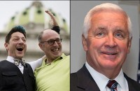 Incumbent Republican Governor Tom Corbett from Pennsylvania faces Democrat Tom Wolf in November. (Photo: Philly.com)