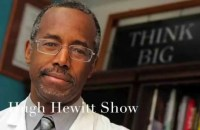 Dr. Ben Carson, the head of neurosurgery at John Hopkins University, said on the Hugh Hewitt Show that he would refuse to serve as surgeon general under Obama because he doesn't trust him.