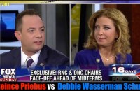 RNC Chair Reince Priebus and DNC Chair Debbie Wasserman Schultz both joined Chris Wallace on Fox News Sunday to discuss would control the Senate after Nov.