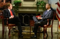 """A Saturday Night Live mocked President Obama for blaming social media and U.S. intelligence for ISIS' rise in a SNL parody of his """"60 Minutes"""" interview."""