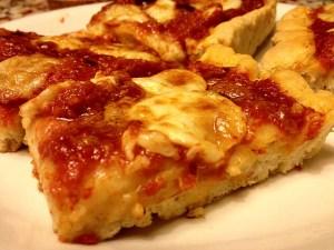 pizza margherita fetta