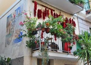 balcone e peperoni