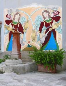 murales e fontana