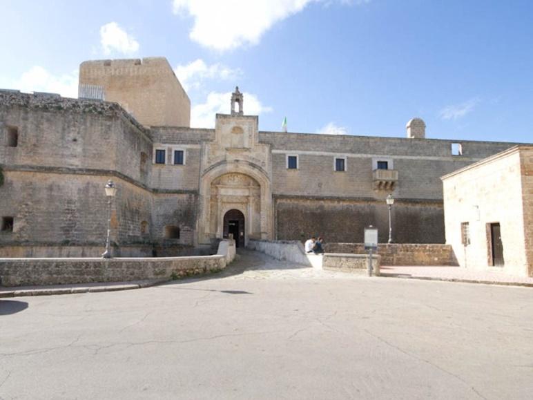 facciata del castello