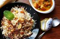 Hydrabadi Bagara Rice-Simplified version of Biryani