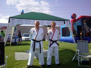 Mr Smith and Mr Giddens - July 4th Valdosta Fair - ATA Leadership