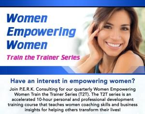 Women Empowering Women (Train the Trainer Series) @ New York   New York   United States