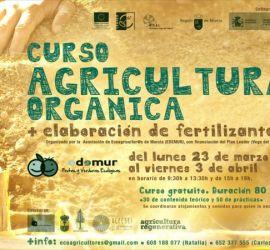 Curso de Agricultura orgánica y elaboración de fertilizantes