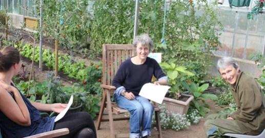 planning meeting Totnes food gardens