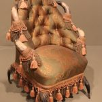 Texan-Horn-and-Silk-armchair