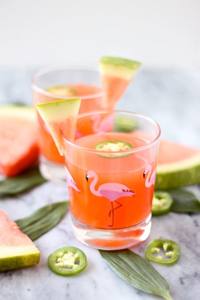 Pineapple-Watermelon Cocktail