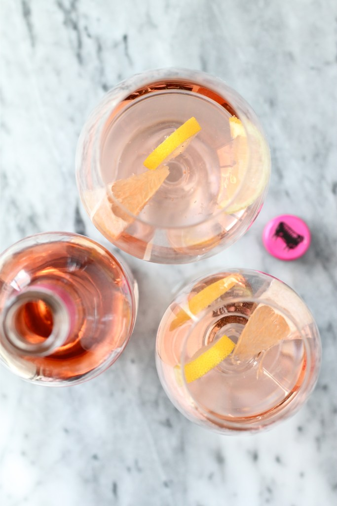 Rosé Wine Cocktail