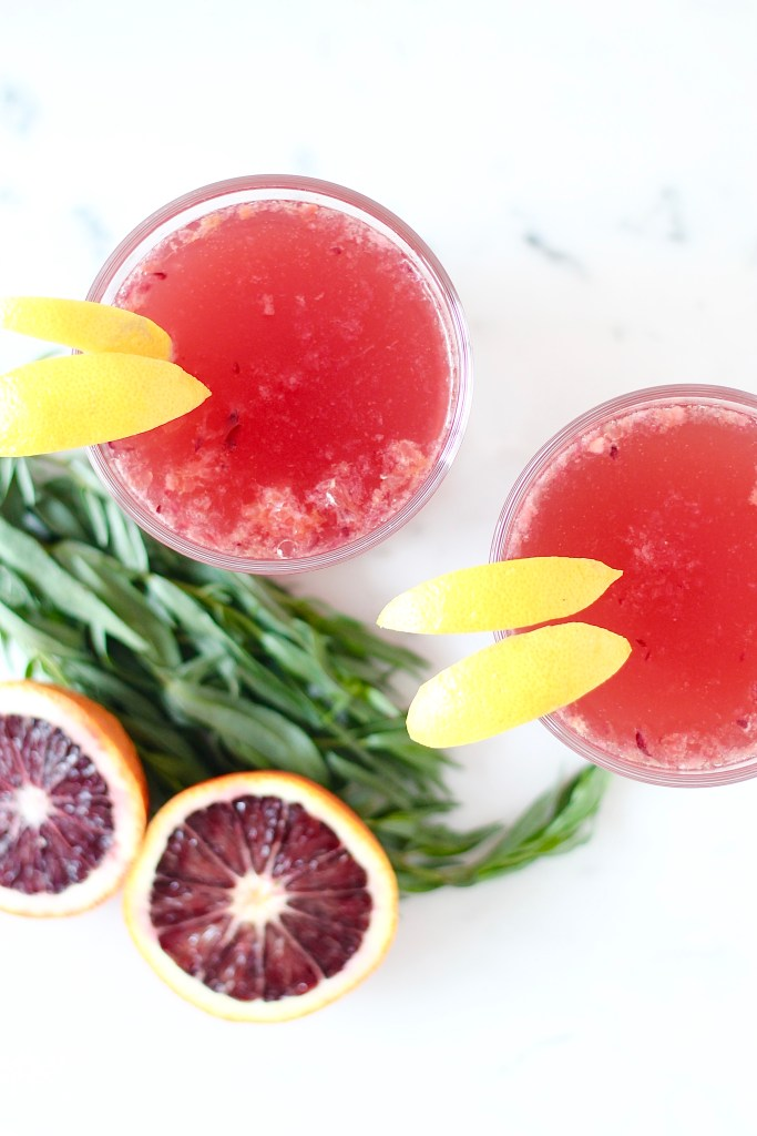 Blood Orange Shandy
