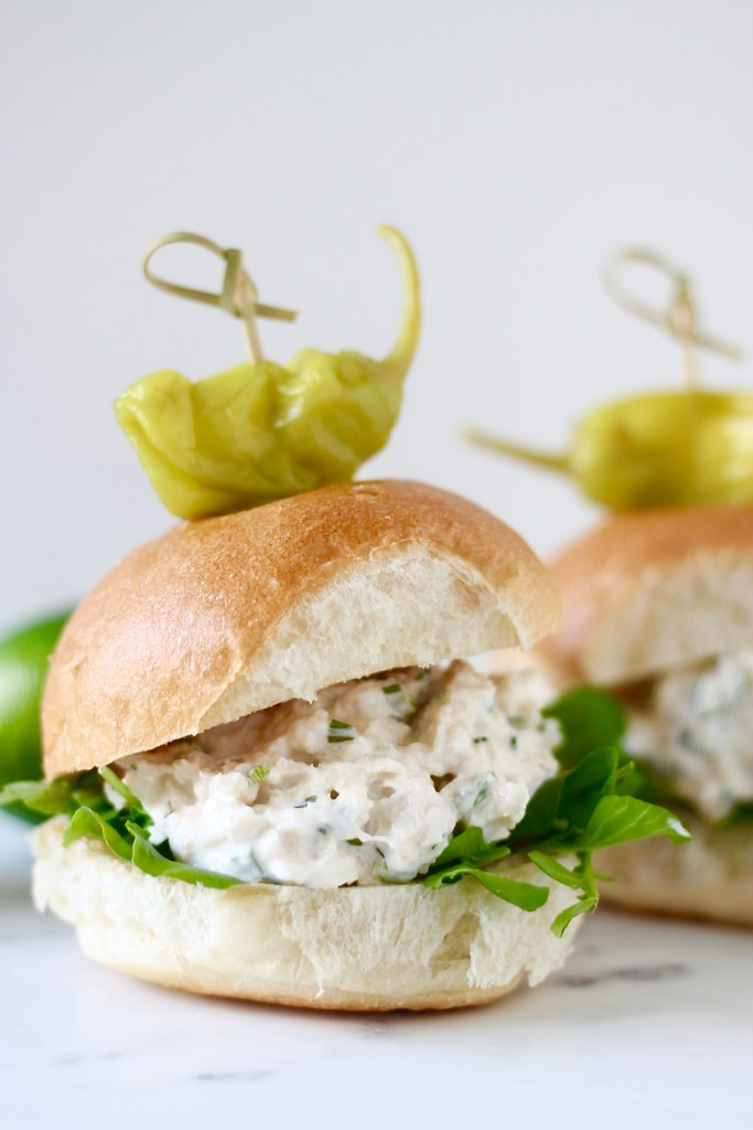 Crab Salad Sliders with Citrus Aioli