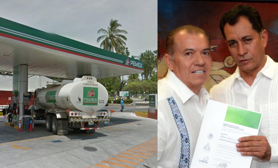 Desvió Colima 248 mil litros de combustible a gasolineras del ex secretario de Gobierno