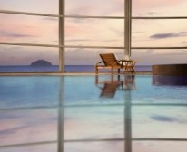 The Spa at Turnberry - view from the indoor pool