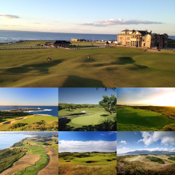 World's Top 100 Courses - Scotland, Australia, Spain, Portugal, New Zealand, England, Northern Ireland - PerryGolf.com