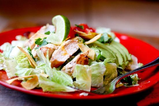 Paleo Chicken Fiesta Salad