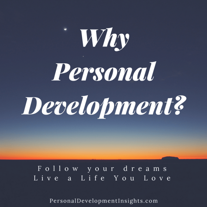 Why Personal Development
