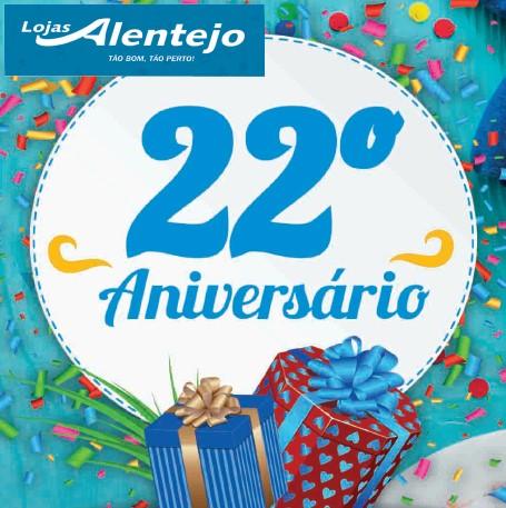 LOJAS ALENTEJO ESPECIAL ANIVERSARIO 22 BANNER INICIAL