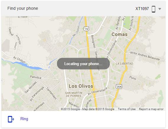Ahora podrás encontrar tu Android digitando 'encontrar mi teléfono' en Google