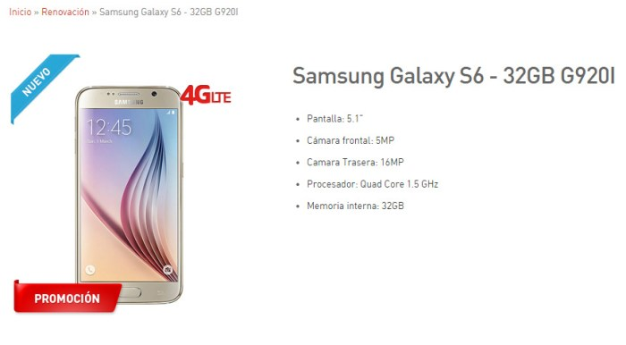 Precios de Galaxy S6 y Galaxy S6 Edge con Claro