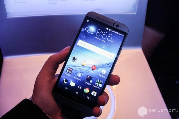 HTC One M9 fue presentado en el Perú