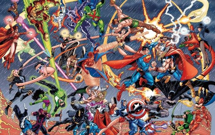 Marvel vs DC, el renacimiento de una vieja rivalidad