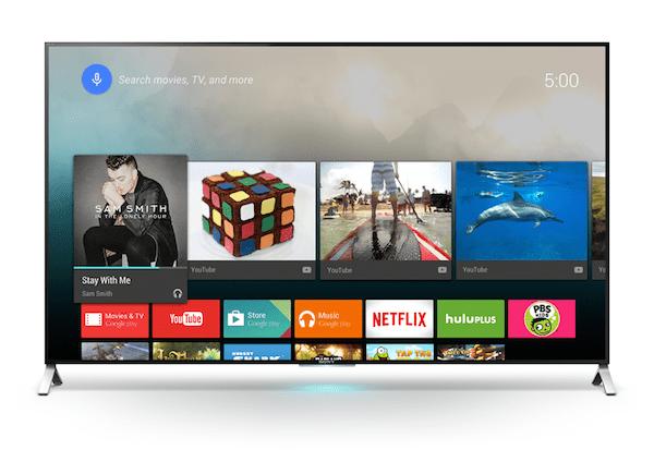 Sony traerá sus nuevos Smart TV con Android para el 2do semestre del 2015