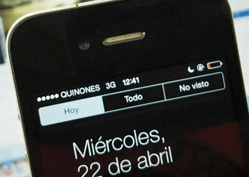Movistar recuerda a José Quiñones cambiando el nombre de su señal en celulares
