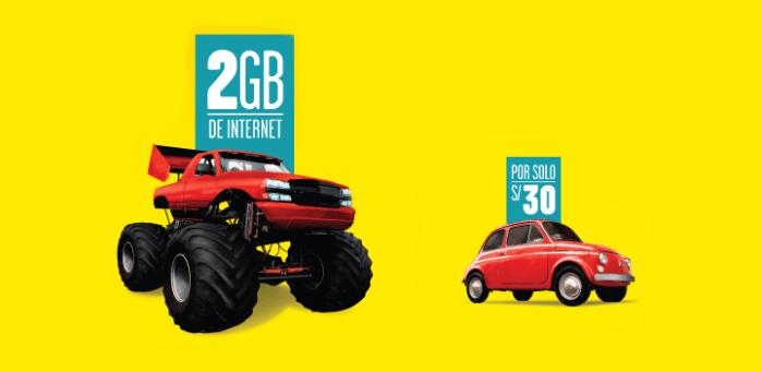 Bitel ahora ofrece paquetes de datos de 2GB a S/. 30