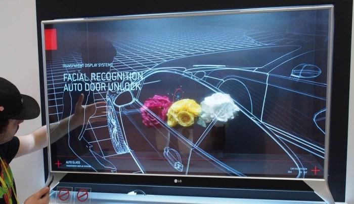 LG lanza nos deja ver el futuro con su nueva TV semi-transparente